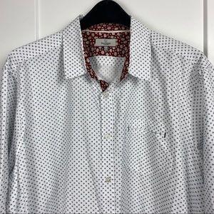Burnside XXL 100% cotton button down